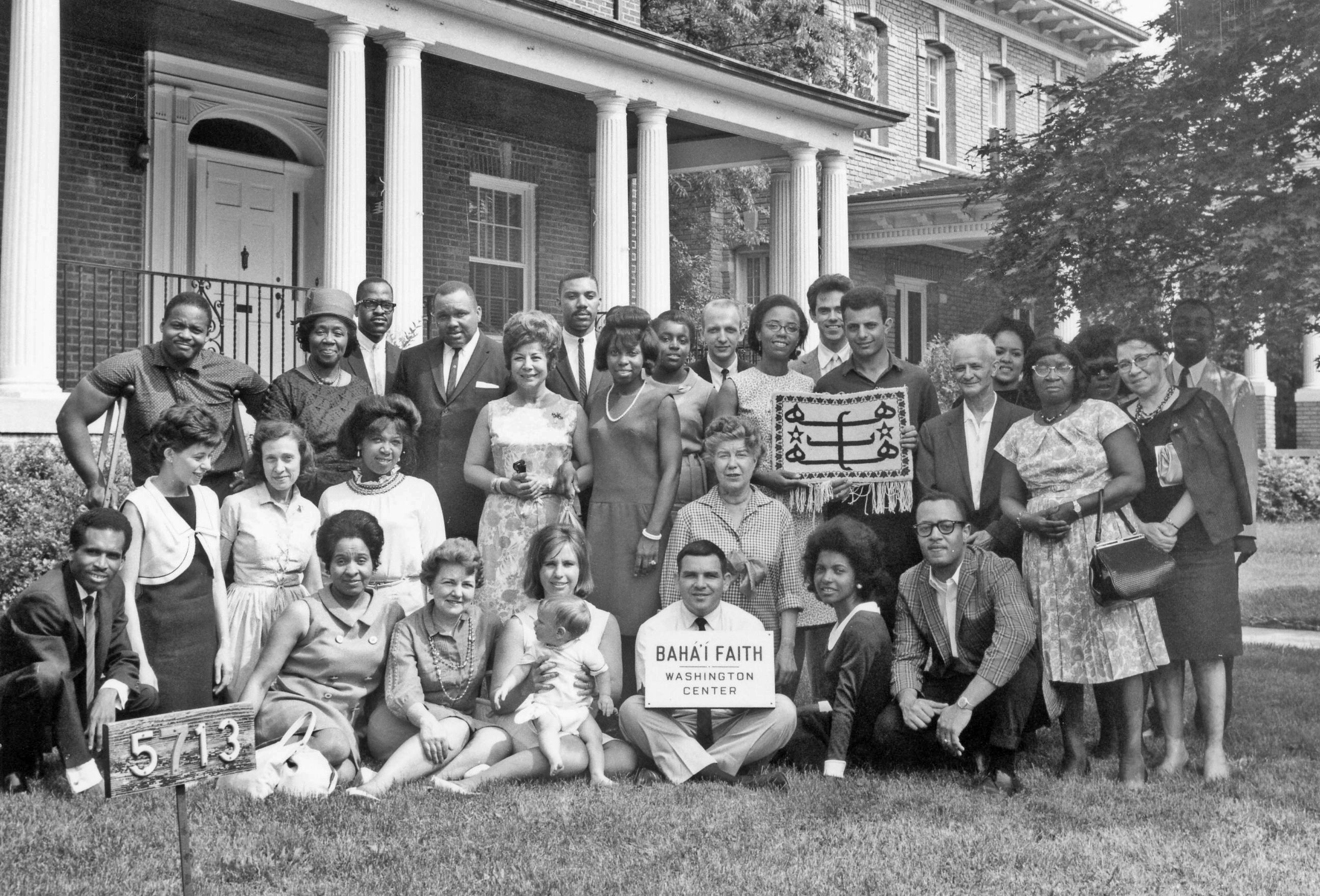 Members, Washington DC Baha'i Community, 1966