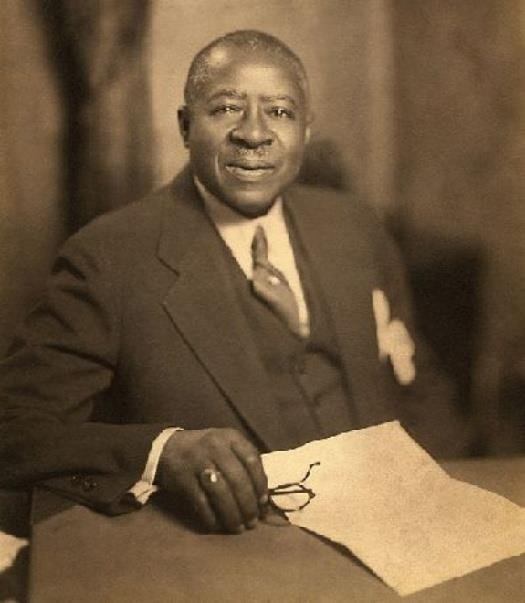 Photo of Robert Sengstacke Abbott