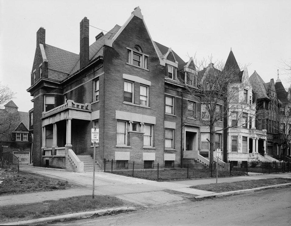 The home of Robert Sengstacke Abbott in Chicago, Illinois