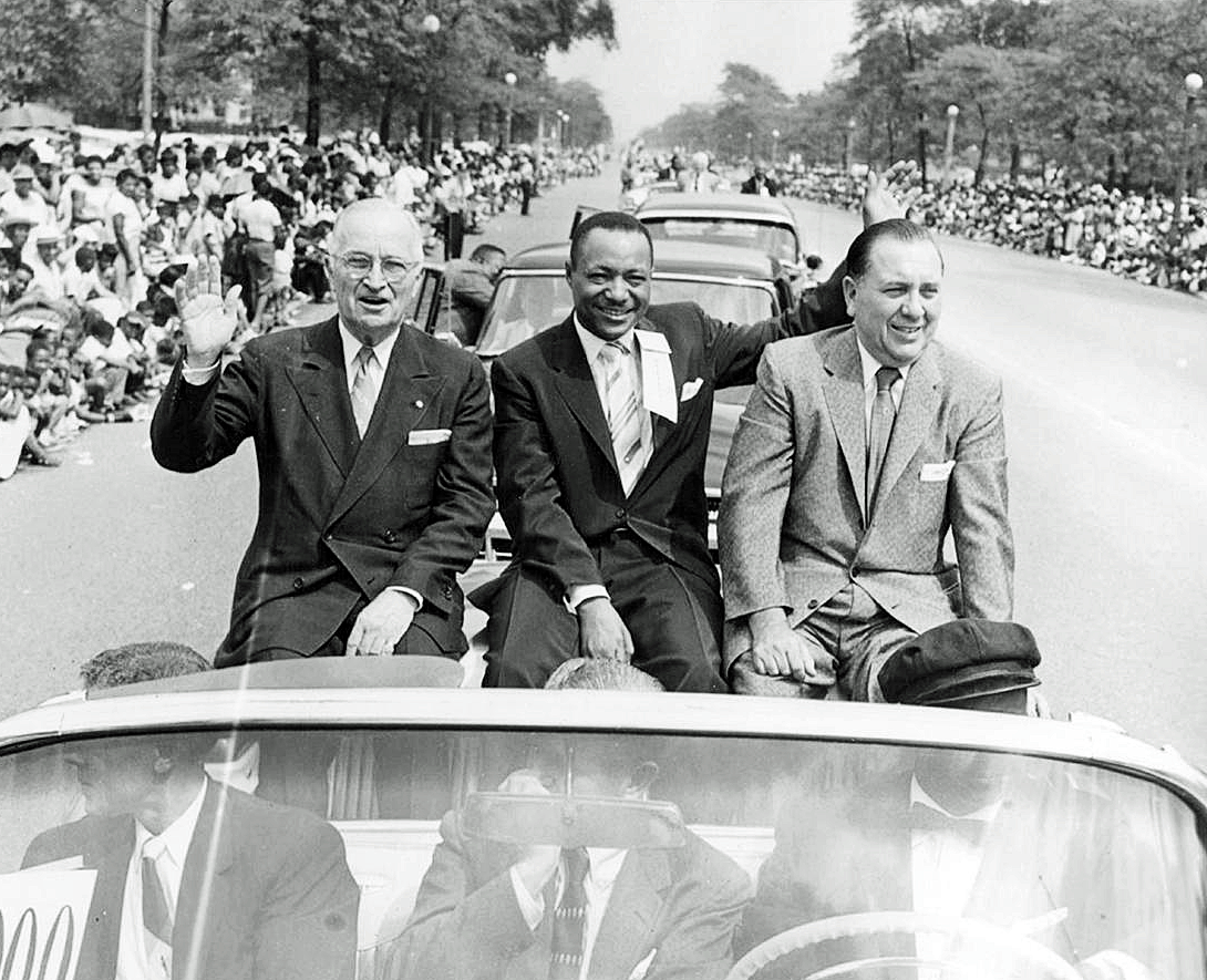 Robert Sengstacke Abbott's 1956 Bud Billiken Parade in Chicago, Illinois